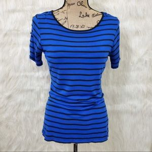 Cable & Gauge striped tee